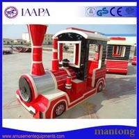 China/Battery/Manufacturer/Toy/Theme/Kids/Adult/Rides/Amusement Park Electric Trackless Train