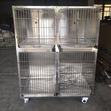 Stainless steel animals pet hospital cages animal hospital crates