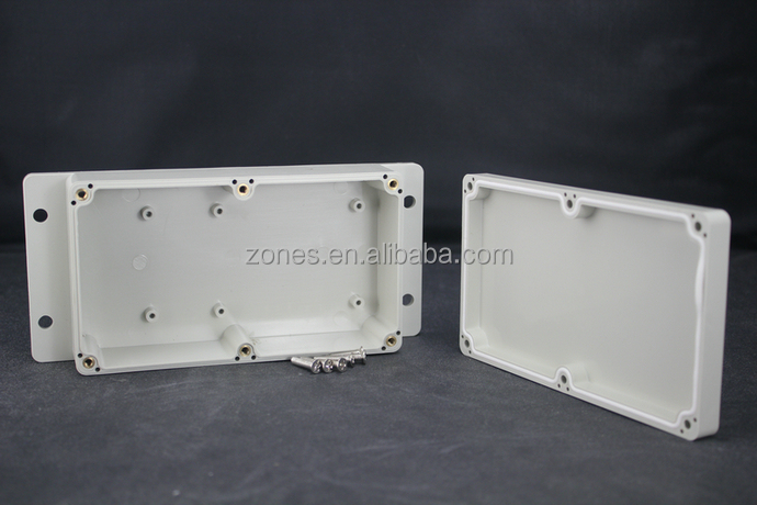 wall mounted nema ip65 waterproof plastic electronic plastic case enclosure housing