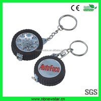tyre shape height tape measure