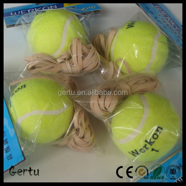 2015 training tennis ball with elastic string