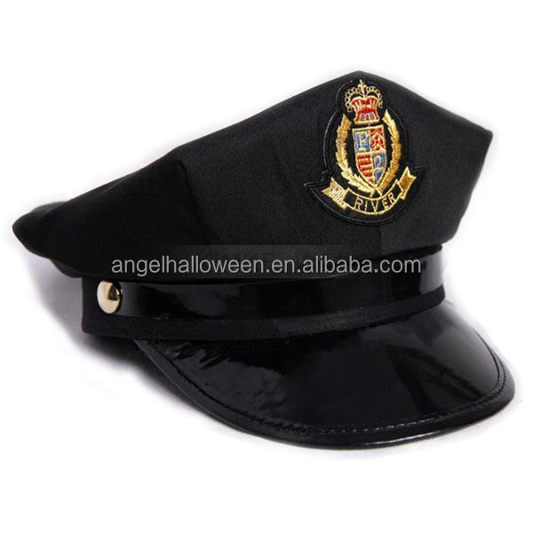 Octagon Yacht Sailor Captain Skipper Boat Police Sheriff Hat Cap Party Costume Hat NH4043