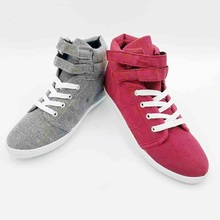 New High Quality Men Canvas Shoes Fashion High top Men's Casual Shoes Breathable Canvas Man Lace up Brand Shoes Black