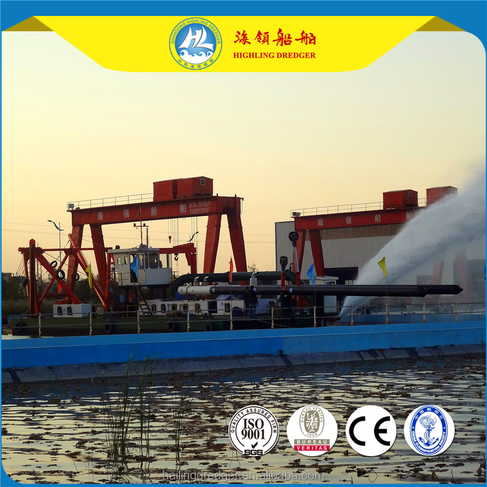 2017 New Price Highling 20inch Hydraulic Cutter Suction Sand Dredger/Dredging Machine