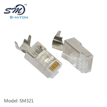Trade Assurance Discount 8 pin 8 core connector cat7 rj45 plug