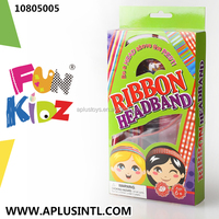 Kids Craft DIY Girls Toys Ribbon Headband Kits