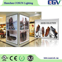 High quality double sided outdoor light box display