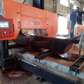 log cutting band saw machine
