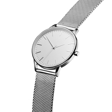 Popular design stainless steel mesh strap custom made watches