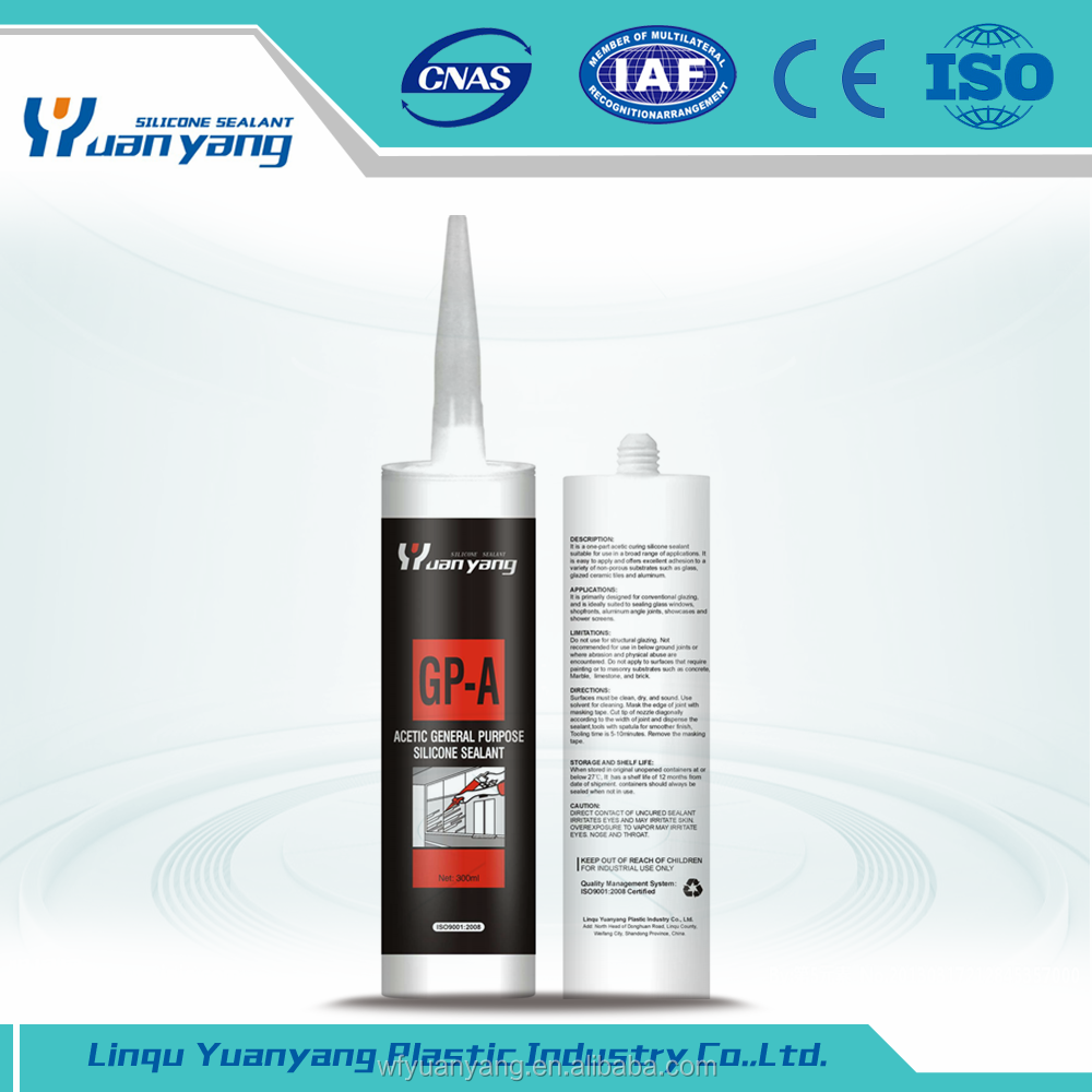 General Purpose Acetoxy Silicone Sealant Granite Silicon Sealant