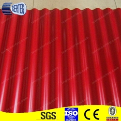 steel roof shingle with color coated