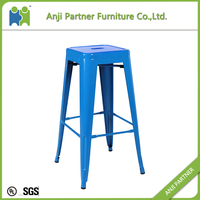 customized color popular metal bar chair (Fengshen)