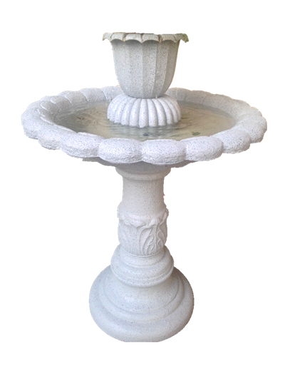 home bird bath water fountains lowes