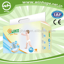 hot sale and super absorbent parents choice baby diapers manufacturer in China