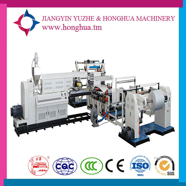Laminating machine pp/pe extrusion coating machine