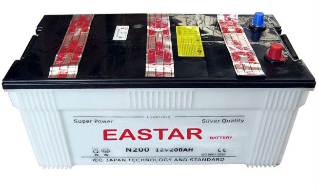Strong ! Din/jis Standard 12v Auto Battery For Mid East/africa/europe, High Quality Auto Parts,Car,Automobile Battery