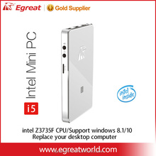 Smallest cheap mini computer Egreat i5 New generation Mini PC,even it can be replace your desktop computer