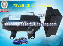 Car parking cooler webasto type cooling automatic car cooling system with dc compressor