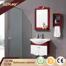 High Quality 32 Inch Corner Wall Mounted Bathroom Vanity Units