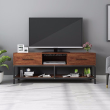 New Design Modern Bamboo Wood TV Stand Pictures