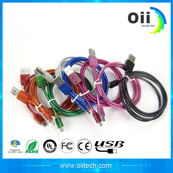 Hot Product With Modern Micro Usb Cable With Power Switch Led Light