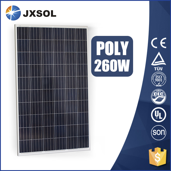 260W POLYCRYSTALLINE CHINA SOLAR PRODUCT BEST PRICE SOALR PANEL