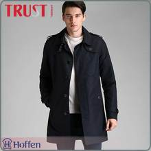 2016 newest autumn and winter European style classic elegant men trench coat