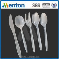 Light weight and Cheap Disposable 2g bulk PP plastic cutlery