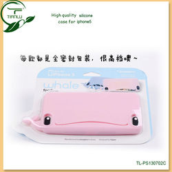 Soft 3D shaped cat silicone/jelly mobile phone case for iphone 5