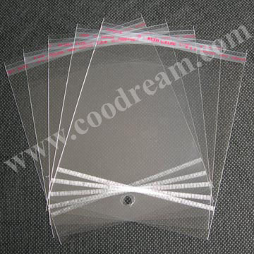 thick on roll decorative large heavy duty wholesale cosmetic bopp drawstring small self adhesive clear opp plastic bag
