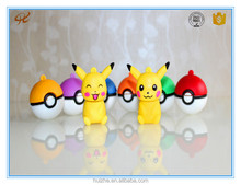 High speed attractive cheap design free usb flash drive sample pokemon go ball pen drive