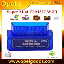 Car Diagnostics Scanner Scan Tool V2.1 Bluetooth WiFi ELM327 OBD2 for iOS Android PC