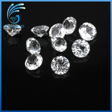 high quality natural topaz rough brilliant cut well polished white natural topaz stones