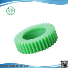 engineering plastic injection moulding plastic nylon gear plastic or nylon gear 45mm diameter