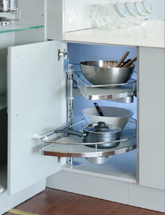 Kuchenschrank metall herausziehen karussell veranstalter for Küchenschrank karussell
