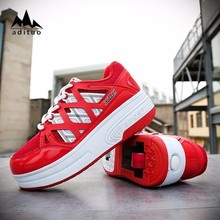 New Style Professional Custom Two Wheels Roller Shoes
