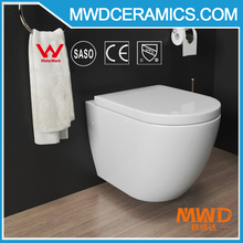 China supplier best price good quality sanitary ware watermark wall hung toilet