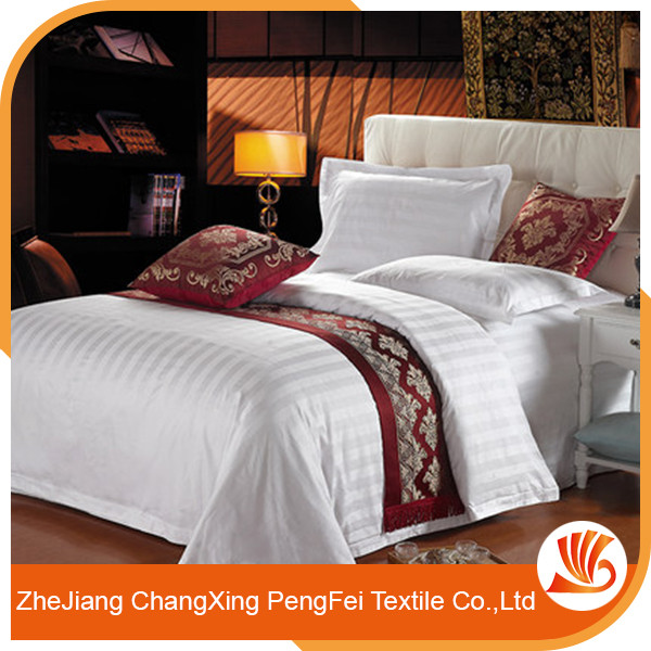 Wholesale Bedding Set 100% Polyester Hotle Bed Sheet