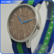 Japan Movt Quartz Watch Stainless Steel Back Water Resistant Cheap Wooden Watch Japan Lover