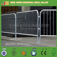 Metal Temporary barrier fence for crowded control
