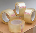 Logo printed cheap clear BOPP tape factory produce