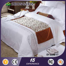 Beautiful Handmade Micofiber soft hotel bed sheet/comforter set/bedding set