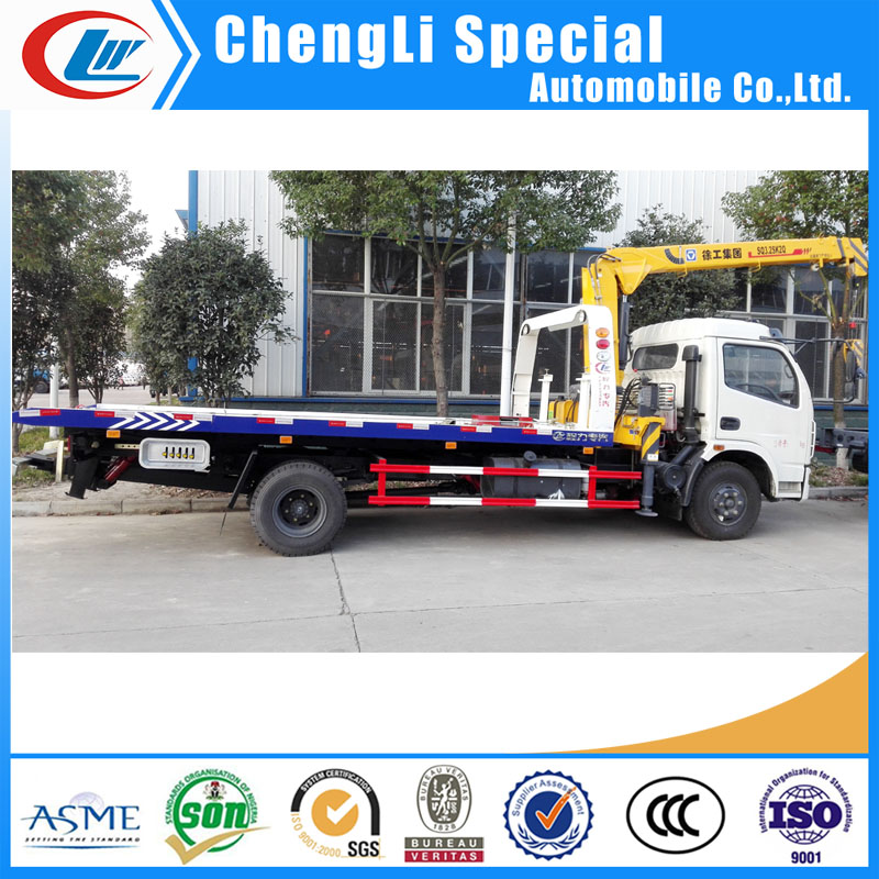 Cheap Wrecker Truck for Small Car/Truck Carrier Wrecker Towing Truck for sale