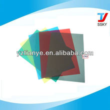 Clear Color A4 Size Plastic Sheet PVC Binding Cover