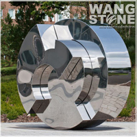 Art Design Stainless Steel Collectible Sculpture
