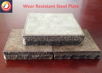 factory directly sale overlay wear steel plate bimetallic high chrome hardened palte