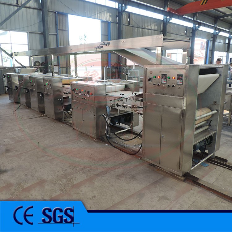 Small Gas Cookies Production Equipment Line
