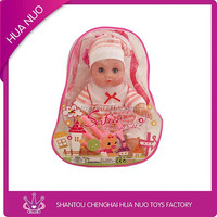 Fashion lovely baby small doll toy set for children
