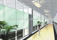modern design room divider office furniture partition wall glass V70