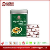 Customized your Own organic cemellia sinensis , ganoderma lucidum tea
